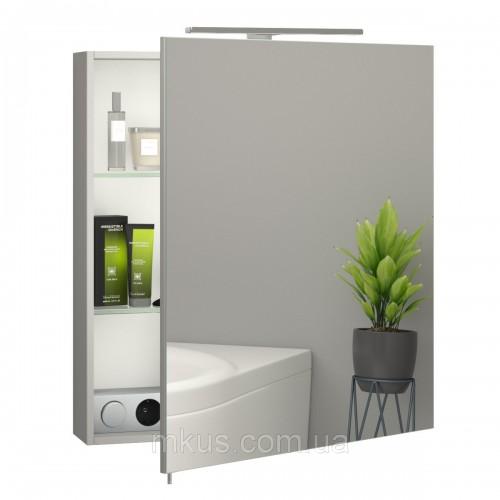 Купить Зеркальный шкафчик в ванную Эверест 600