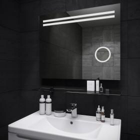 Зеркало Della (Делла) Led с увеличением 700х650