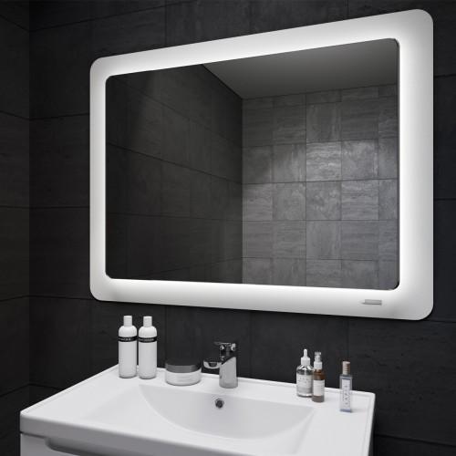 Купить Зеркало Cosmo (Космо) Led белое 980х830